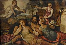 FRANS FLORIS THE ELDER AND WORKSHOP   Allegory of the Immortality of Virtue