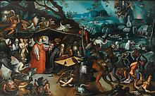 CIRCLE OF JAN BRUEGHEL THE ELDER   Temptation of St Anthony
