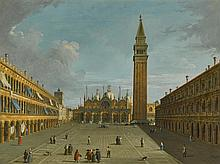 FOLLOWER OF GIOVANNI ANTONIO CANAL, CALLED CANALETTO | Venice, Saint Mark's Square, looking East