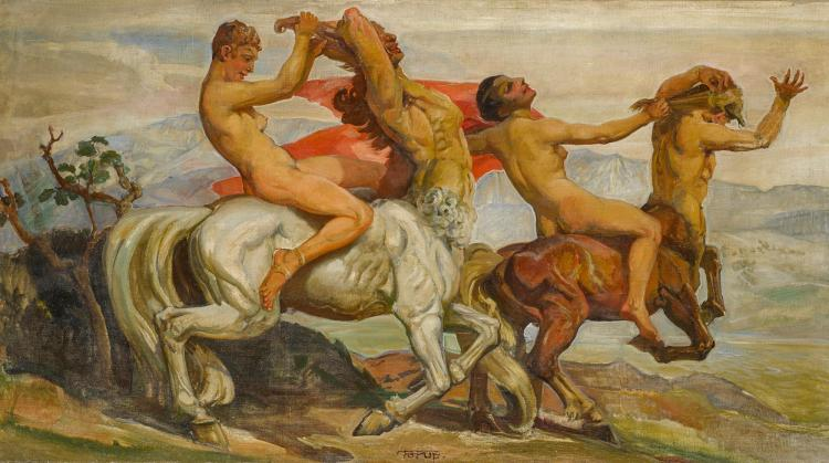 CARL FORUP | Amazons and Centaurs