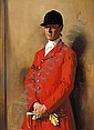 SIR WILLIAM ORPEN, R.A., R.H.A. 1878-1931 PORTRAIT OF CAPTAIN MARSHALL ROBERTS, MASTER OF THE, Sir William Orpen, Click for value