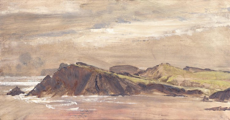 DEREK HILL 1916-2000 TORY ISLAND - FROM MY HUT