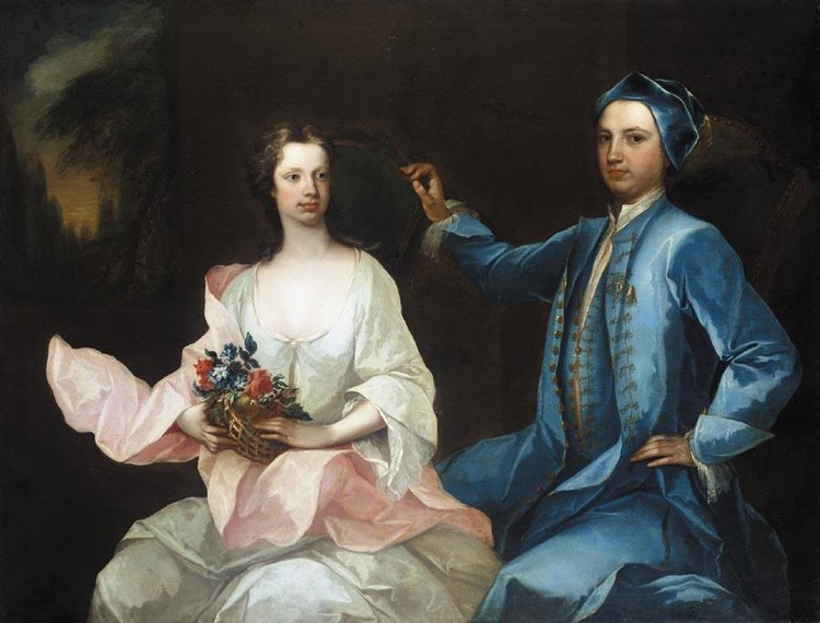 f - CHARLES JERVAS 1675-1739