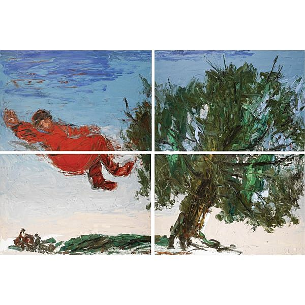 m - Anatoly Slepyshev, b.1932 , the dream oil on canvas