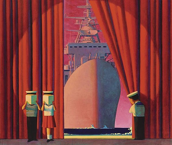 Liu Ye B. 1964 , Untitled   oil on canvas
