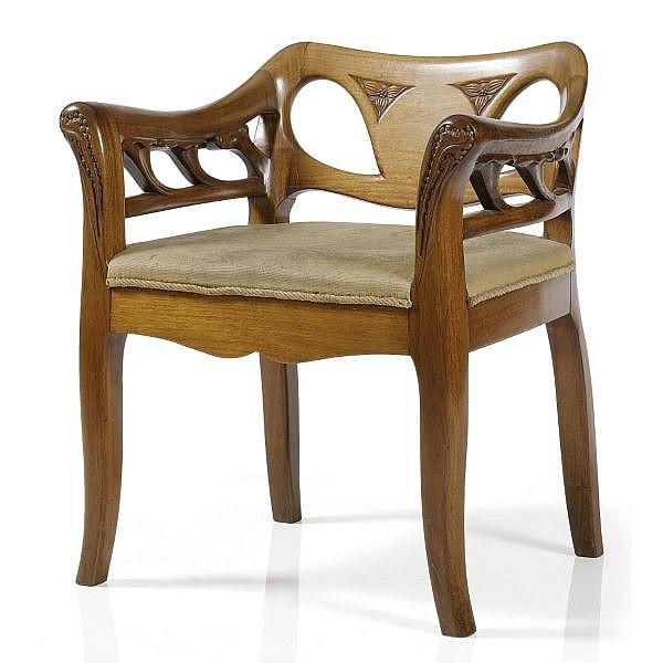- Bernhard Pankok (1872 - 1943) , An important armchair