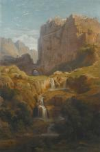 GEORG BUSSE   View of Constantine, Algeria,from the north side