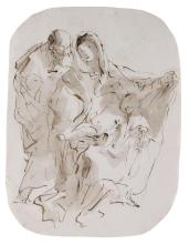 GIOVANNI BATTISTA TIEPOLO | The Holy Family