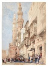 DAVID ROBERTS, R.A. | The Gate of Bab Zuweyleh, Cairo