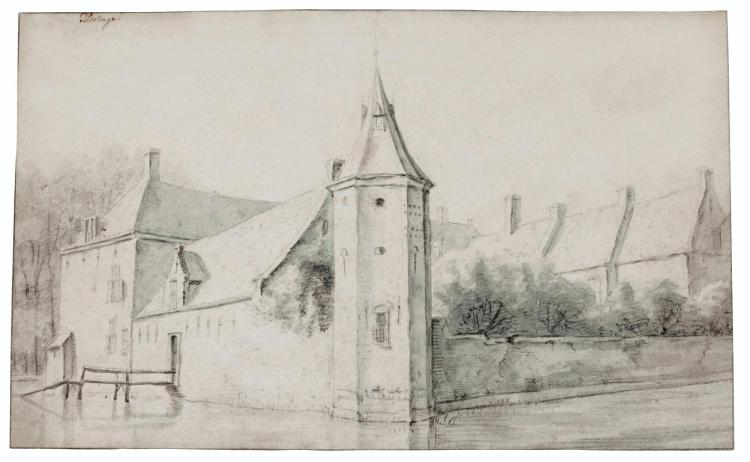 ROELANT ROGHMAN | View of Castle Blootinge, near the Hague