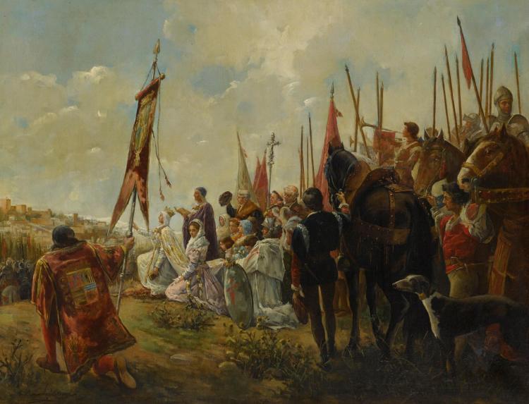 ANTONIO SALVADOR CASANOVA Y ESTORACH | Isabella I of Castile, Conqueror of Granada