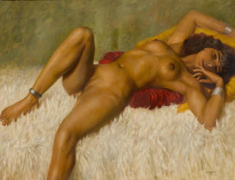 Aunties with nude porn paintings