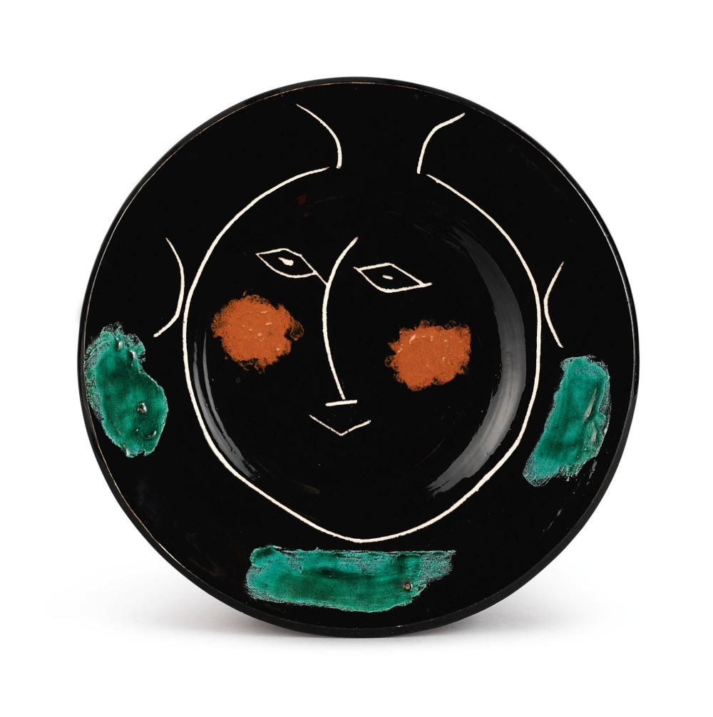 PABLO PICASSO (1881 - 1973) | Service visage noir (A.R. 39)