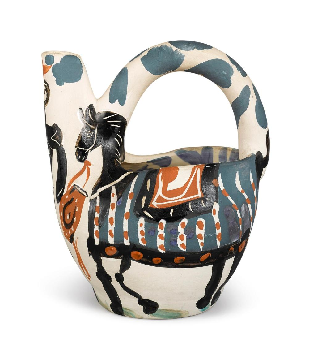 PABLO PICASSO (1881 - 1973) | Cavalier et cheval (A.R. 137)