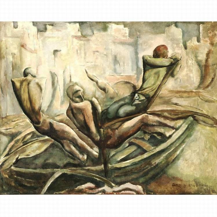 q - LEOPOLD GOTTLIEB 1883-1934