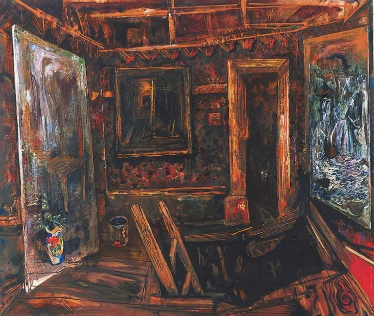 VICTOR RUBIN B. 1950 THE ATTIC
