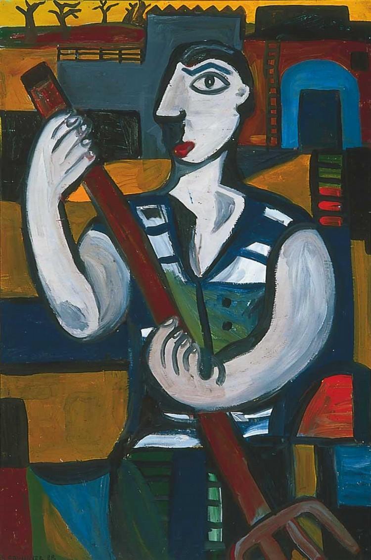 SARAH FAULKNER B. 1959 THE STABLE HAND