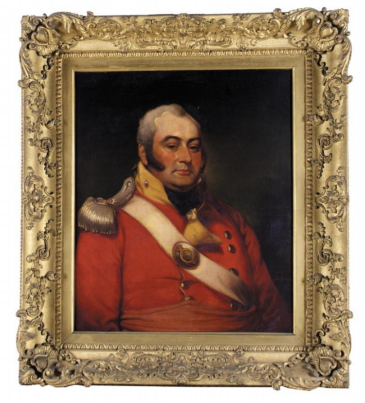 MATHER BROWN 1761-1831 PORTRAIT OF GEORGE FERMOR, 3RD EARL OF POMFRET (1768-1830)