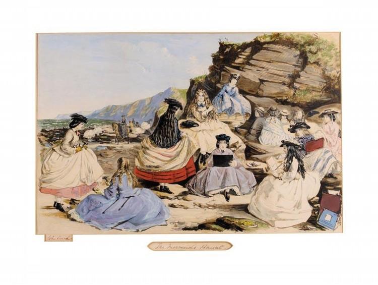 JOHN LEECH 1817-1864 THE MERMAIDS HARVEST