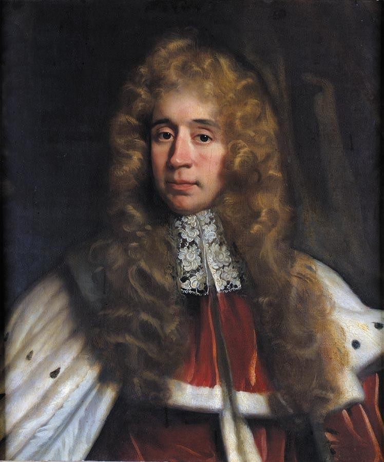 JOHN RILEY 1646-1691 PORTRAIT OF GEORGE JEFFREYS, 1ST BARON JEFFREYS (1645-1689)