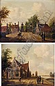 FREDERICUS THEODORUS RENARD 1778 - 1820 THE DIEMEN TOLL GATE AT THE OUTERWALER BRIDGE, AMSTERDAM;