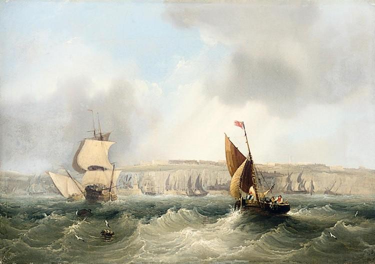 FREDERICK CALVERT ACTIVE 1827 -1844