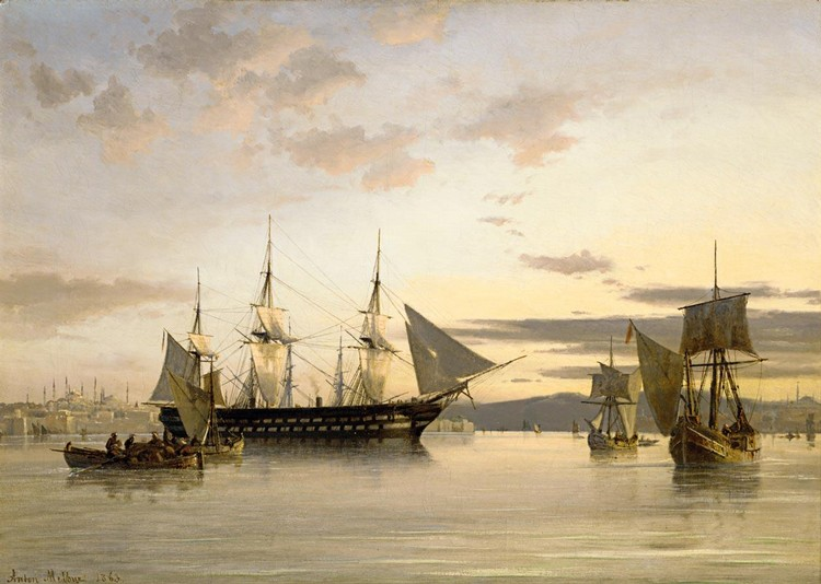 ANTON MELBYE 1818-1875