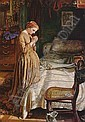WILLIAM HOLMAN HUNT, A.R.S.A., R.W.S., O.M. (1827-1910) MORNING PRAYER