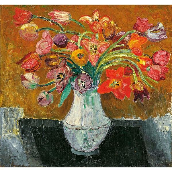 Helen Dahm 1878-1968 Öl auf Leinwand