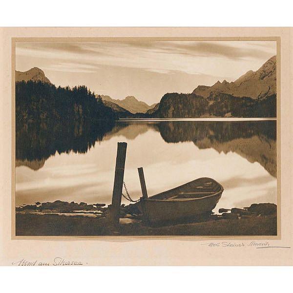 Albert Steiner 1877-1965 Silbergelatineabzug auf Papier auf Karton montiert