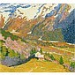 Giovanni Giacometti 1868-1933 Öl auf Leinwand, Giovanni Giacometti, Click for value