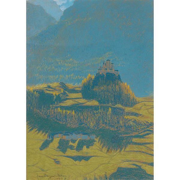 Walter Beyer 1878-1963 Pastell auf Papier