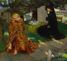 JOHN LISTON BYAM SHAW A.R.W.S., R.I. | The Lure