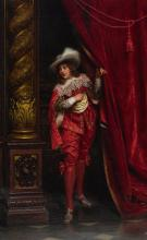 CHARLES JOSEPH FRÉDÉRIC SOULACROIX | A Cavalier in Red