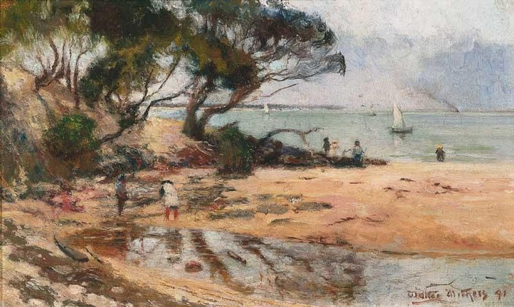 WALTER WITHERS 1854-1914 RICKETT'S POINT, VICTORIA