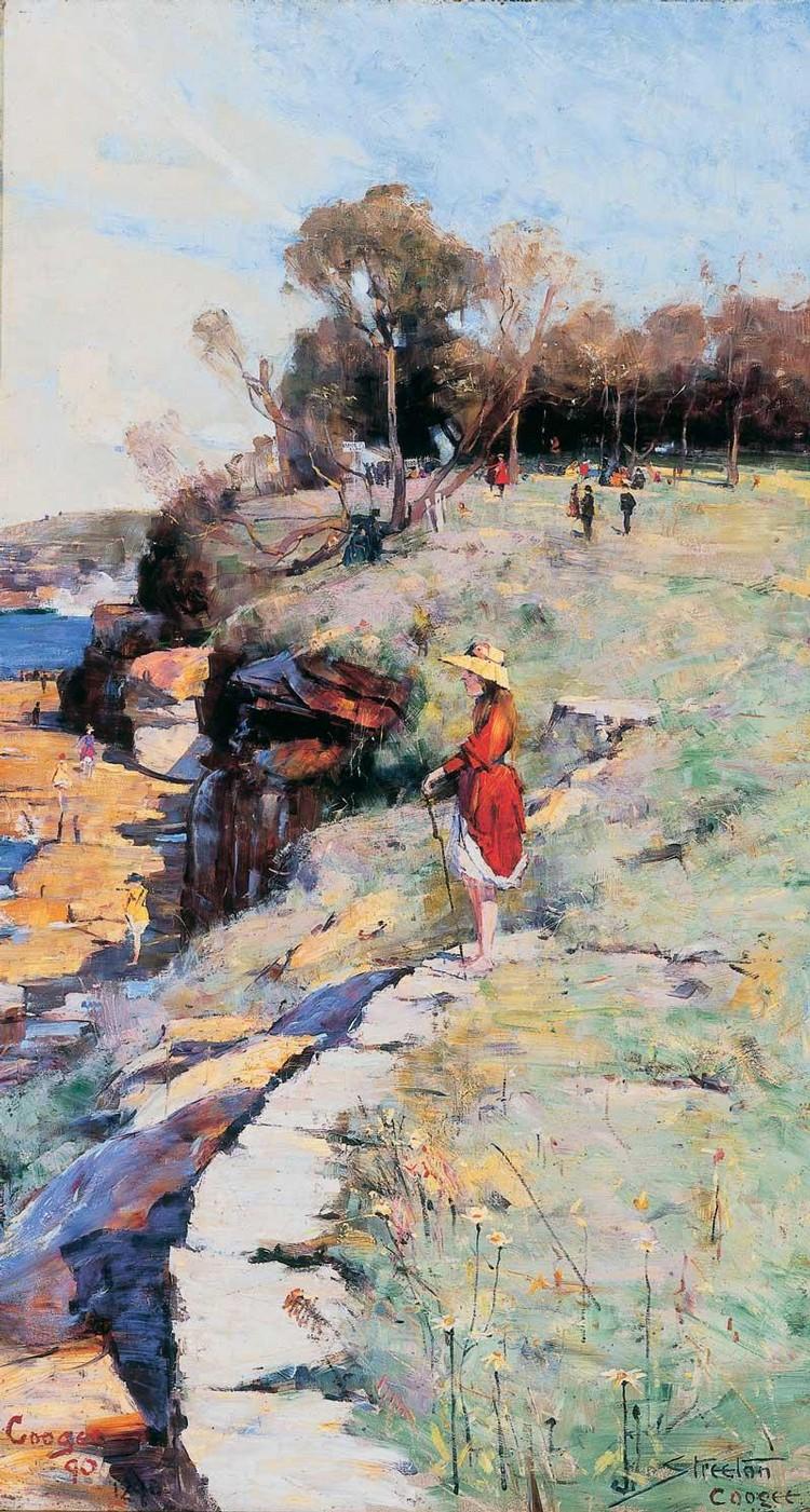 ARTHUR STREETON 1867-1943 'SUNLIGHT SWEET', COOGEE