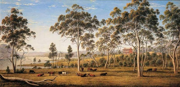 JOHN GLOVER 1767-1849 HOUSE OF THE DERWENT, VAN DIEMEN'S LAND