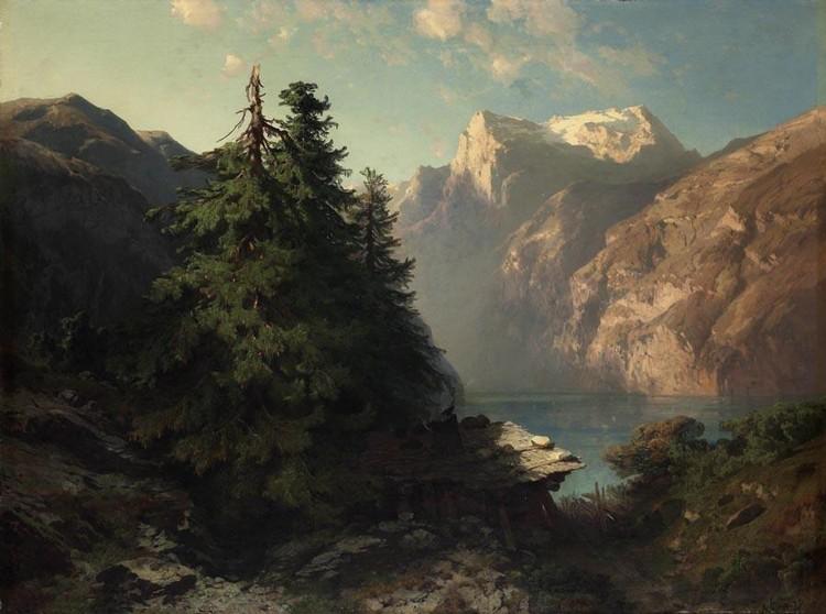 ALEXANDRE CALAME 1810-1864