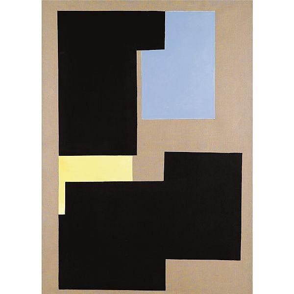 Merlyn Evans , Untitled Oil