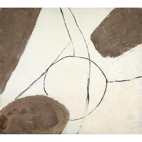 Sandra Blow , Painting Oil, Mixed Media