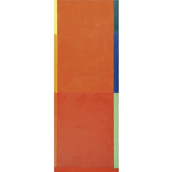 John Hoyland , 15.7.68 Acrylic