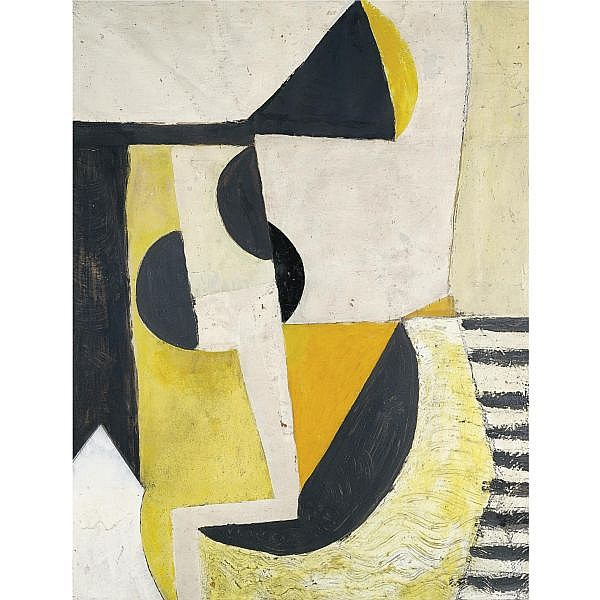 Anthony Hill , Composition 1950 Mixed Media