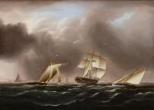 JAMES EDWARD BUTTERSWORTH | Approaching Squall