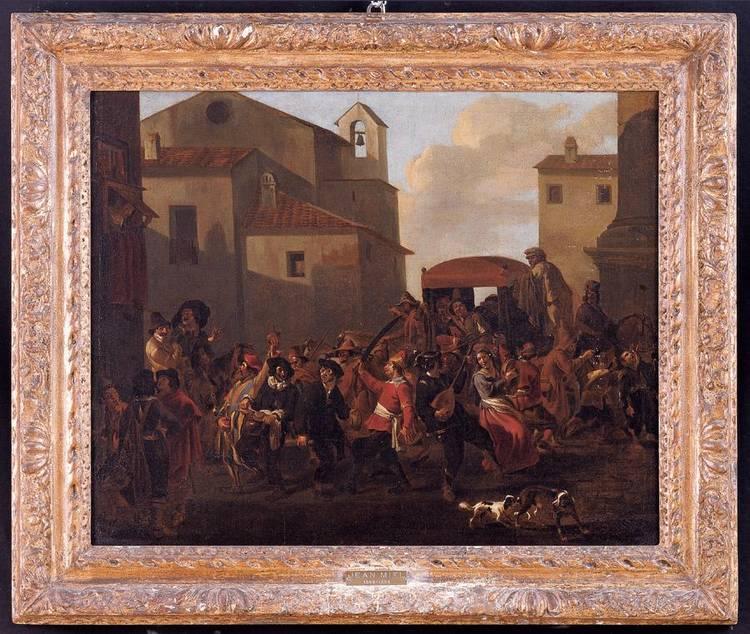 JAN MIEL ANVERSA 1599-1663 TORINO
