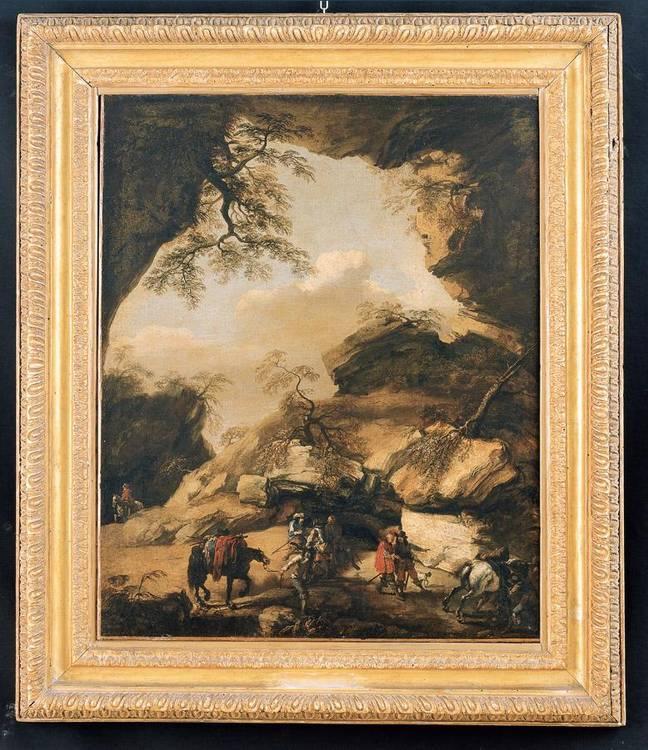 PANDOLFO RESCHI DANZICA 1640-1696 FIRENZE