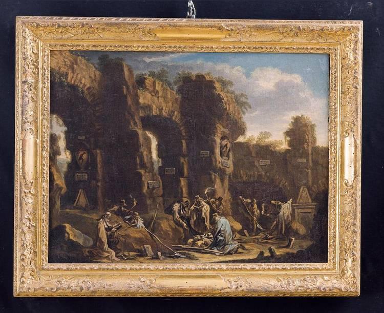 ALESSANDRO MAGNASCO, DETTO IL LISSANDRINO E CLEMENTE SPERA, GENOVA CIRCA 1667-1749; DI ORIGINE