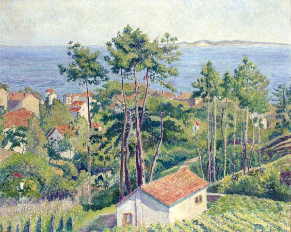 f - THE PROPERTY OF A FAMILY TRUST LUCIEN PISSARRO 1863-1944