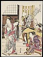 f - TORII KIYONAGA, (1752-1815), Torii Kiyonaga, Click for value
