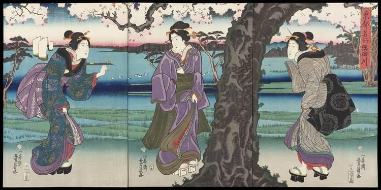 f - UTAGAWA YOSHITORA (FL.1850'S-80), UTAGAWA YOSHIKAZU (FL.1850'S-70) AND UTAGAWA YOSHIFUJI