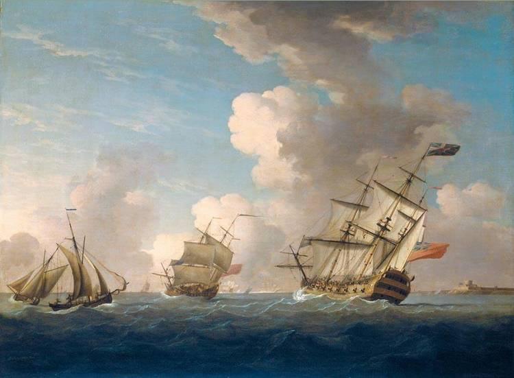 f - PETER MONAMY 1681-1749